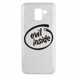 Чехол для Samsung J6 Evil Inside