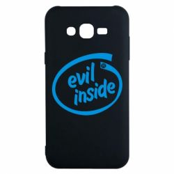 Чехол для Samsung J7 2015 Evil Inside