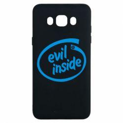 Чохол для Samsung J7 2016 Evil Inside