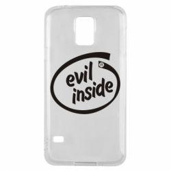 Чехол для Samsung S5 Evil Inside