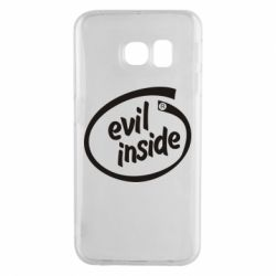 Чохол для Samsung S6 EDGE Evil Inside