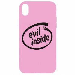 Чехол для iPhone XR Evil Inside