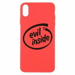 Чехол для iPhone Xs Max Evil Inside