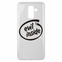 Чехол для Samsung J8 2018 Evil Inside