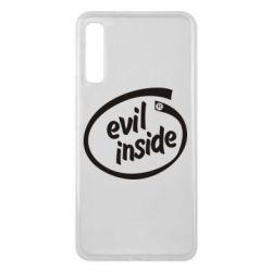 Чехол для Samsung A7 2018 Evil Inside