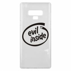 Чохол для Samsung Note 9 Evil Inside
