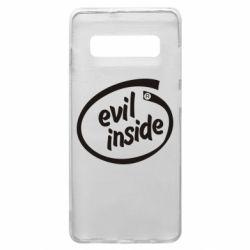 Чехол для Samsung S10+ Evil Inside
