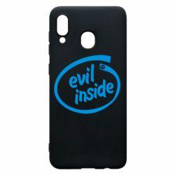 Чохол для Samsung A20 Evil Inside