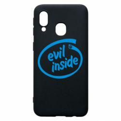 Чохол для Samsung A40 Evil Inside