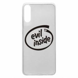 Чехол для Samsung A70 Evil Inside