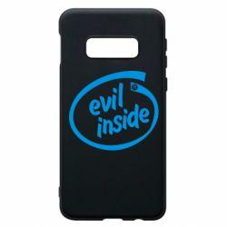Чехол для Samsung S10e Evil Inside