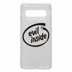 Чехол для Samsung S10 Evil Inside