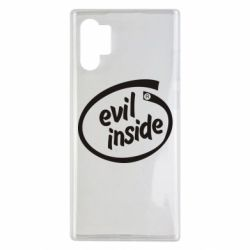 Чехол для Samsung Note 10 Plus Evil Inside