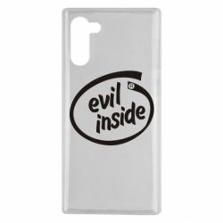 Чехол для Samsung Note 10 Evil Inside