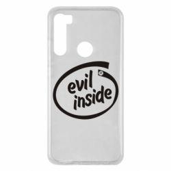 Чохол для Xiaomi Redmi Note 8 Evil Inside