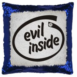 Подушка-хамелеон Evil Inside