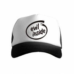 Дитяча кепка-тракер Evil Inside