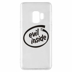 Чехол для Samsung S9 Evil Inside