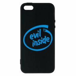 Чохол для iphone 5/5S/SE Evil Inside