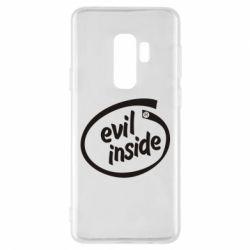 Чехол для Samsung S9+ Evil Inside