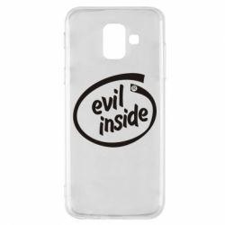 Чехол для Samsung A6 2018 Evil Inside