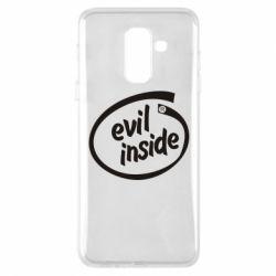 Чехол для Samsung A6+ 2018 Evil Inside