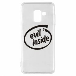 Чехол для Samsung A8 2018 Evil Inside