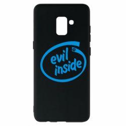 Чехол для Samsung A8+ 2018 Evil Inside