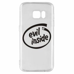 Чехол для Samsung S7 Evil Inside