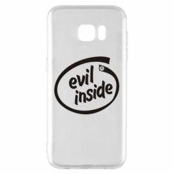 Чехол для Samsung S7 EDGE Evil Inside