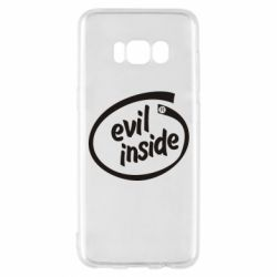 Чехол для Samsung S8 Evil Inside