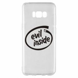 Чехол для Samsung S8+ Evil Inside