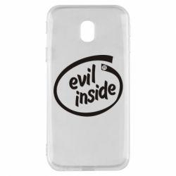 Чехол для Samsung J3 2017 Evil Inside