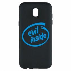 Чехол для Samsung J5 2017 Evil Inside