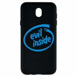 Чехол для Samsung J7 2017 Evil Inside
