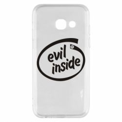 Чехол для Samsung A3 2017 Evil Inside