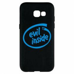 Чехол для Samsung A5 2017 Evil Inside