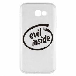Чехол для Samsung A7 2017 Evil Inside