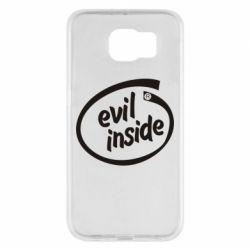 Чехол для Samsung S6 Evil Inside