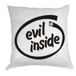 Подушка Evil Inside - FatLine