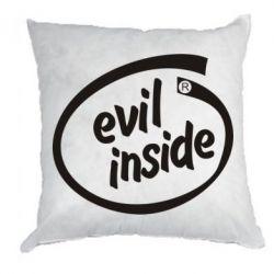 Подушка Evil Inside