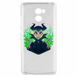 Чехол для Xiaomi Redmi 4 Evil Maleficent