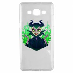 Чехол для Samsung A5 2015 Evil Maleficent