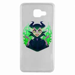 Чехол для Samsung A7 2016 Evil Maleficent