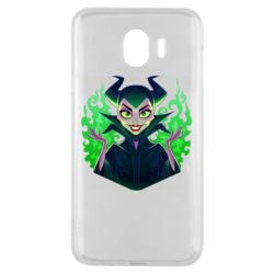Чехол для Samsung J4 Evil Maleficent
