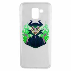 Чехол для Samsung J6 Evil Maleficent