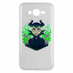 Чехол для Samsung J7 2015 Evil Maleficent