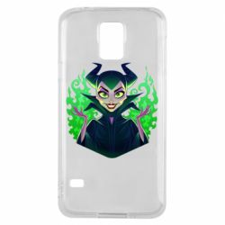 Чехол для Samsung S5 Evil Maleficent