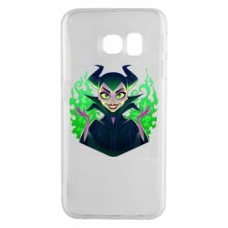 Чехол для Samsung S6 EDGE Evil Maleficent
