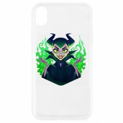 Чехол для iPhone XR Evil Maleficent